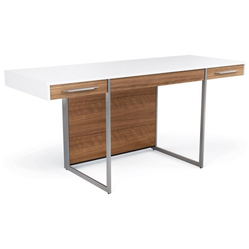 BDI Format Desk with 3 Drawers