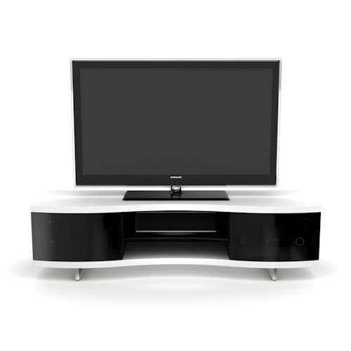 BDI Ola Contemporary Adjustable Shelf Home Media Cabinet