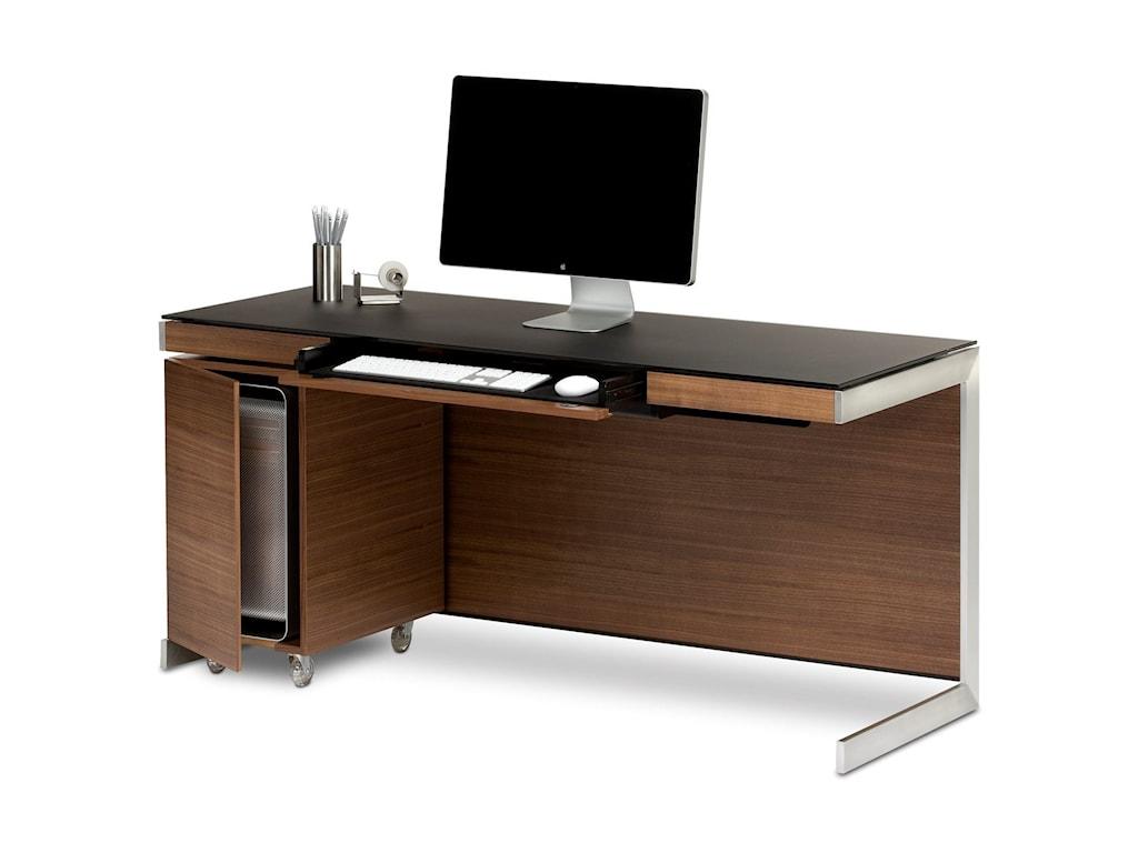 BDI SequelDesk with CPU Cabinet