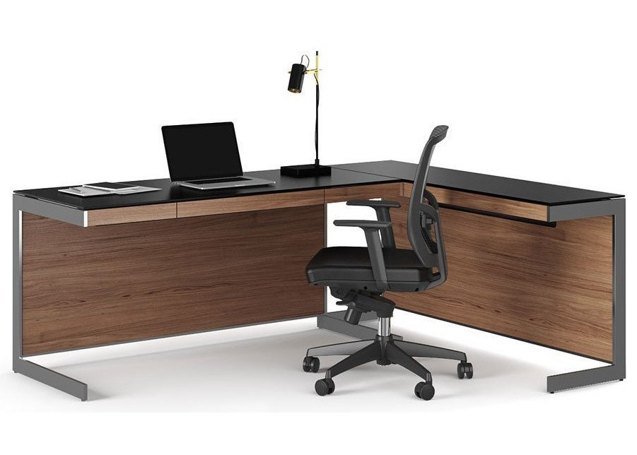 modern office bdi panel desk by for ideas home line computer decor z design with sequel staples back