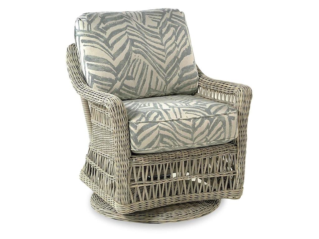 BeachCraft ProvanceOutdoor/Patio Swivel Glide Chair