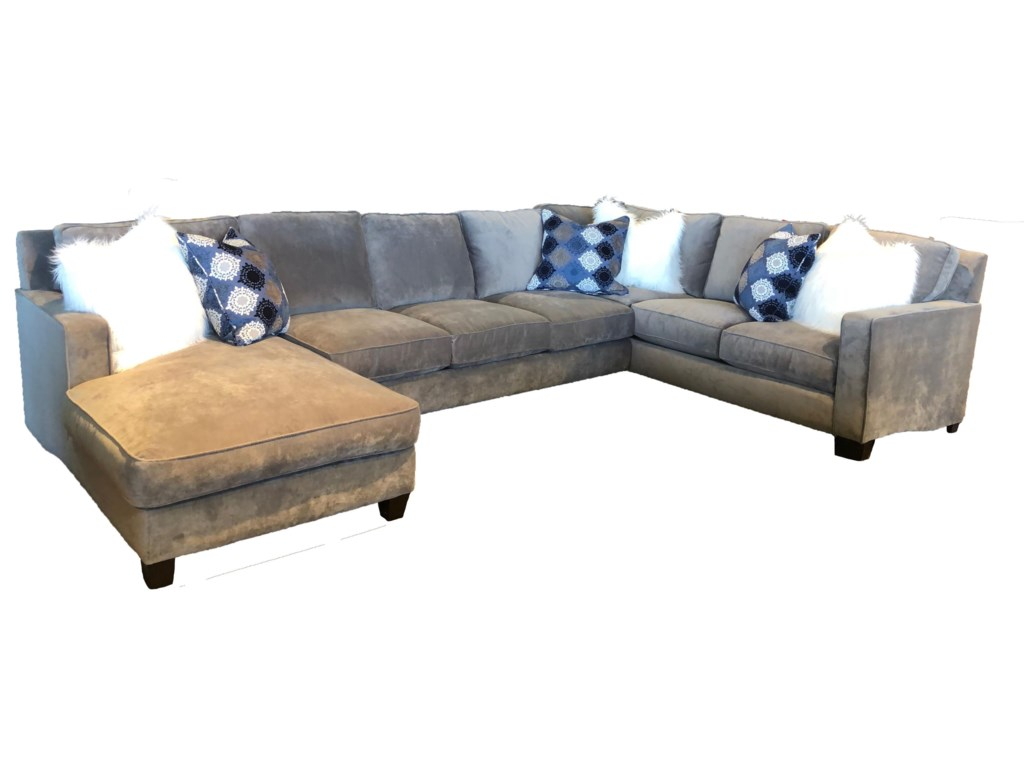 Reeds Trading Company 10001000 3 Piece Down Sectional