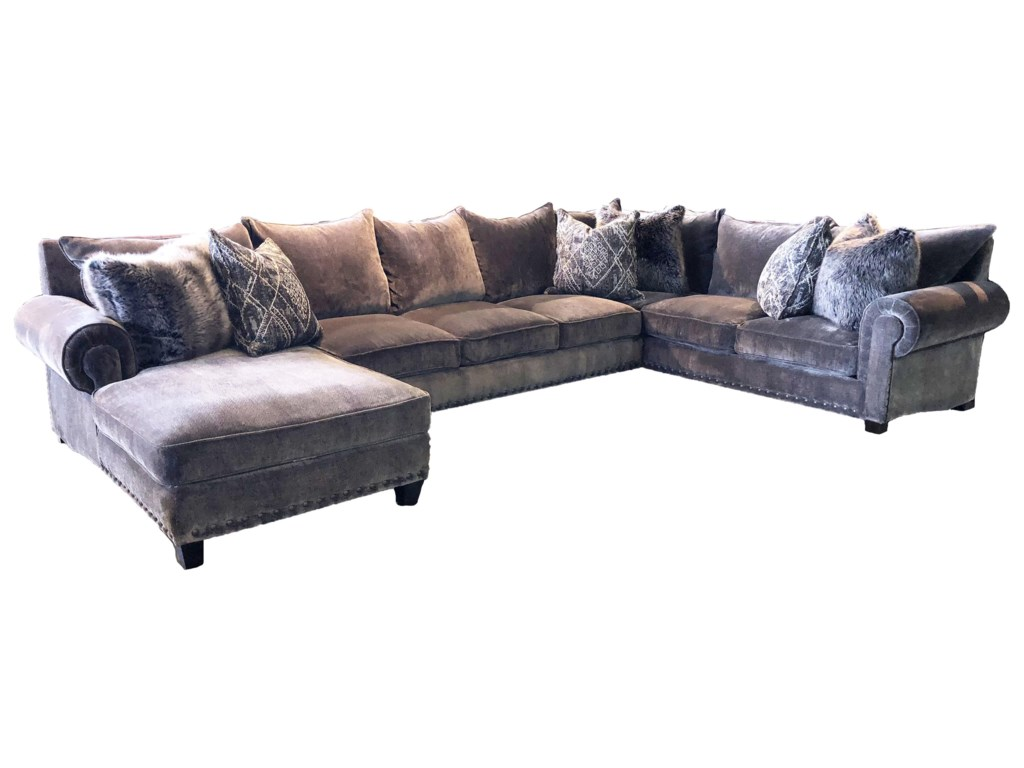 Reeds Trading Company 90009000A 3 PIece Down Sectional