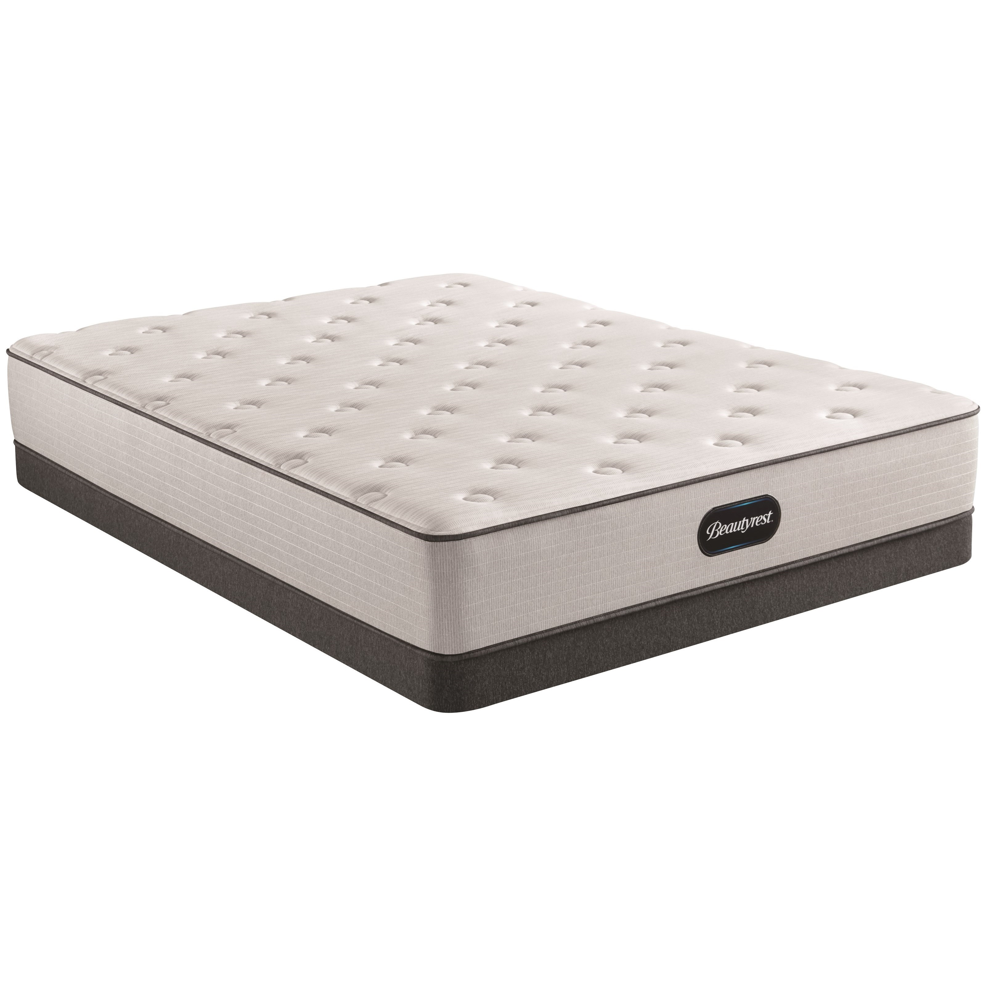"""Cal King 12"""" Medium Pocketed Coil Mattress and 6"""" Low Profile Steel Foundation"""