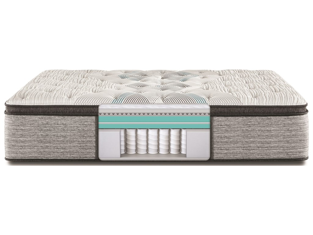 Beautyrest Carbon Series Plush PTTwin 15 3/4