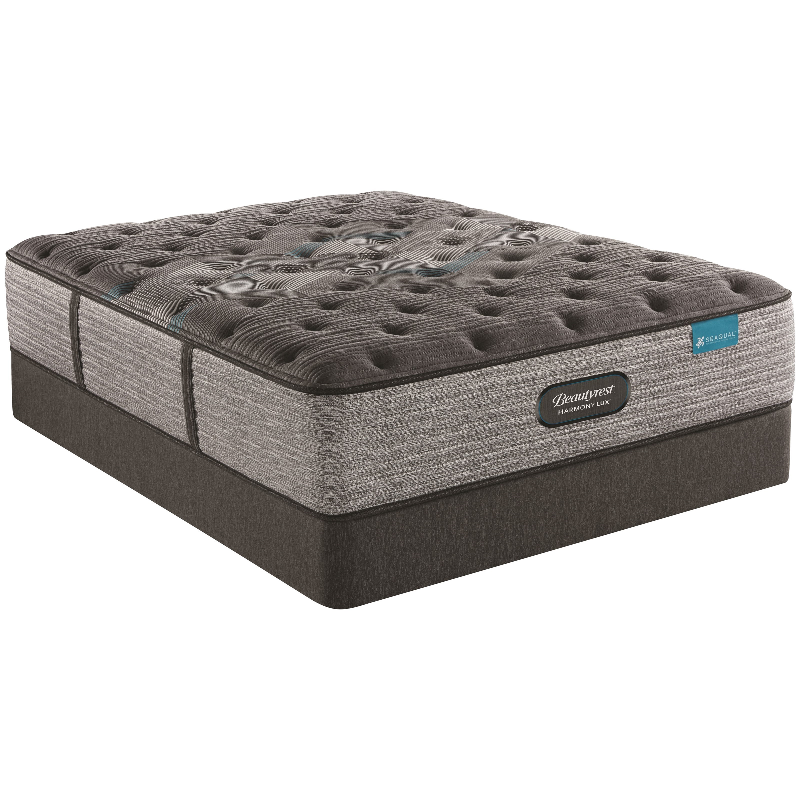 """King 15"""" Plush Premium Pocketed Coil Mattress and 9"""" Foundation"""