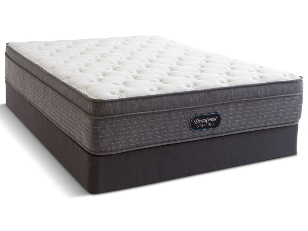 Beautyrest Canada Rosewood Plush Comfort TopQueen Pocketed Coil Mattress Set