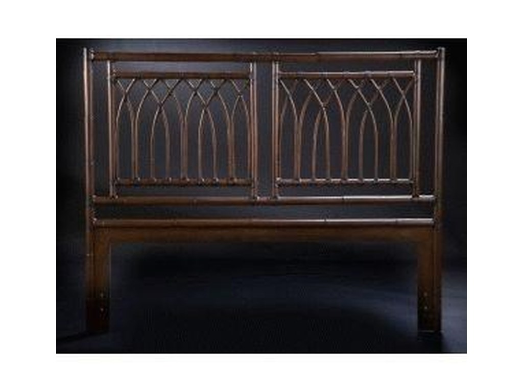C.S. Wo & Sons ArchesQueen Headboard