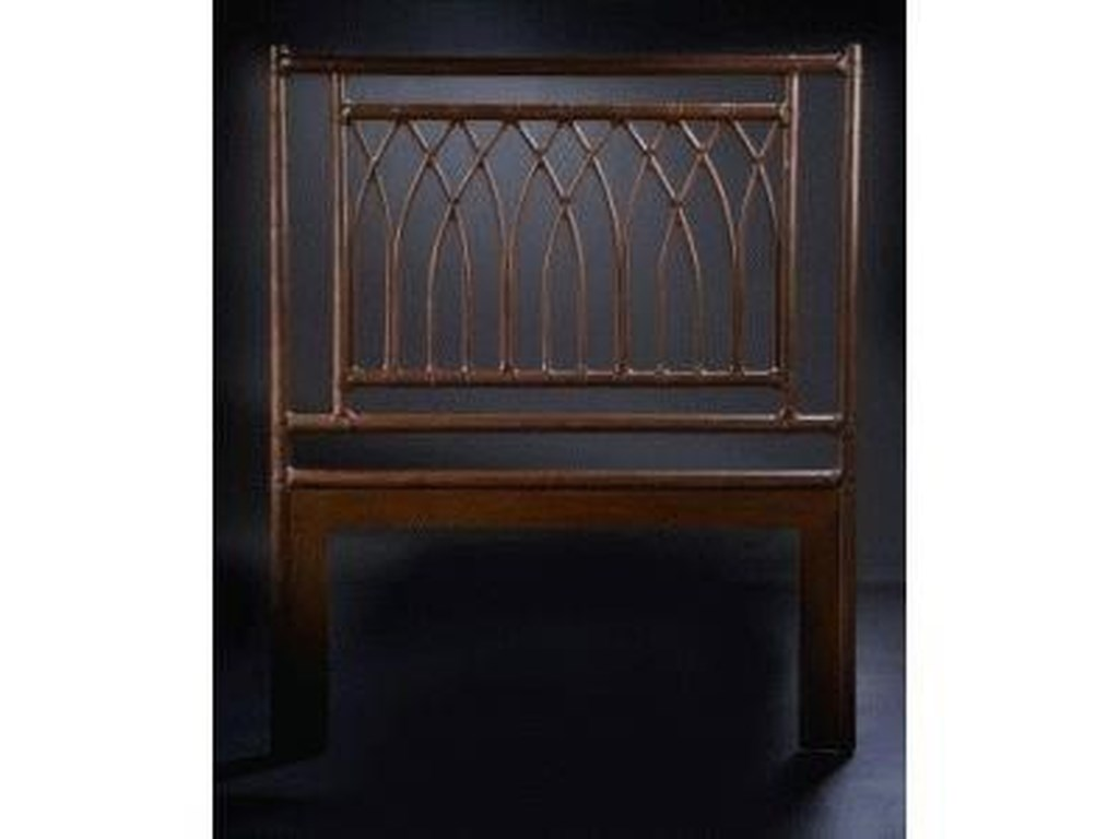 C.S. Wo & Sons ArchesTwin Headboard
