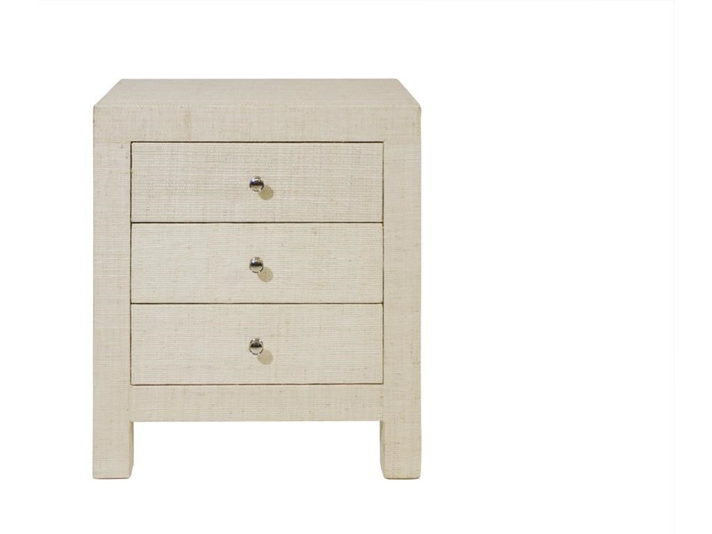 C.S. Wo & Sons Laguna3 Drawer Nightstand