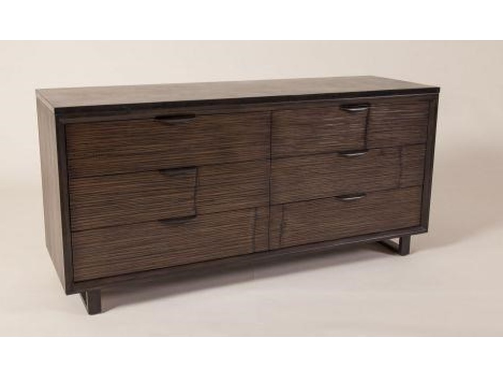 C.S. Wo & Sons Loft6 Drawer Double Dresser