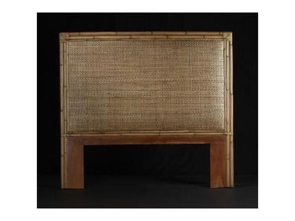 C.S. Wo & Sons MandarinCalifornia King/King Headboard