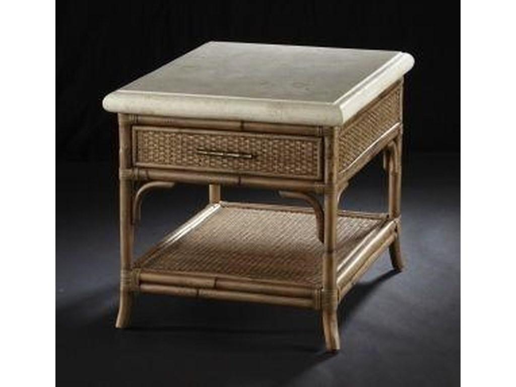 C.S. Wo & Sons MandarinEnd Table