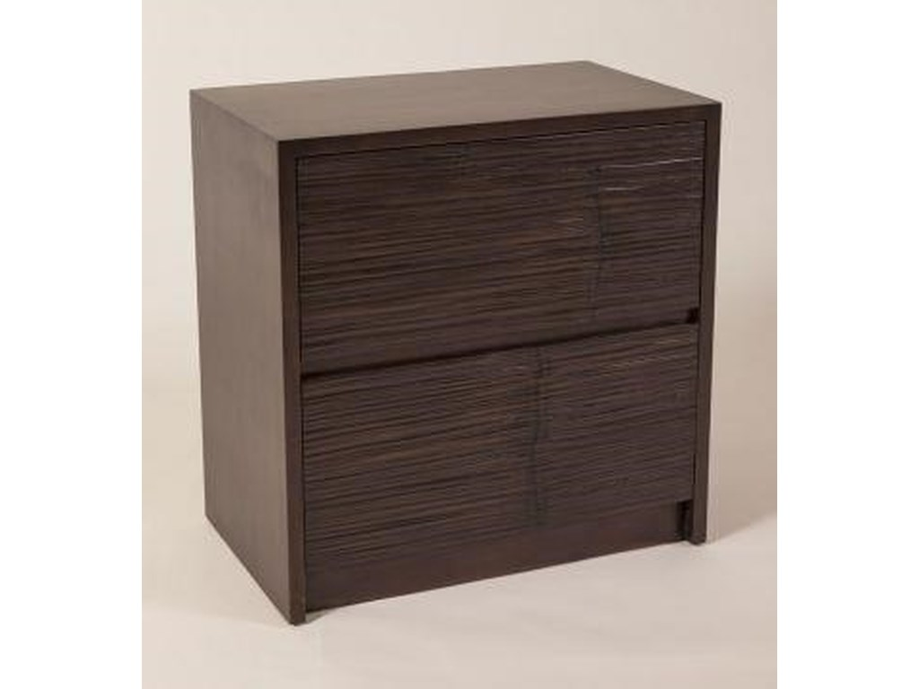 C.S. Wo & Sons Metro2 Drawer Nightstand