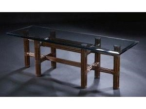 C.S. Wo & Sons Sumatra II TobaccoCocktail Table