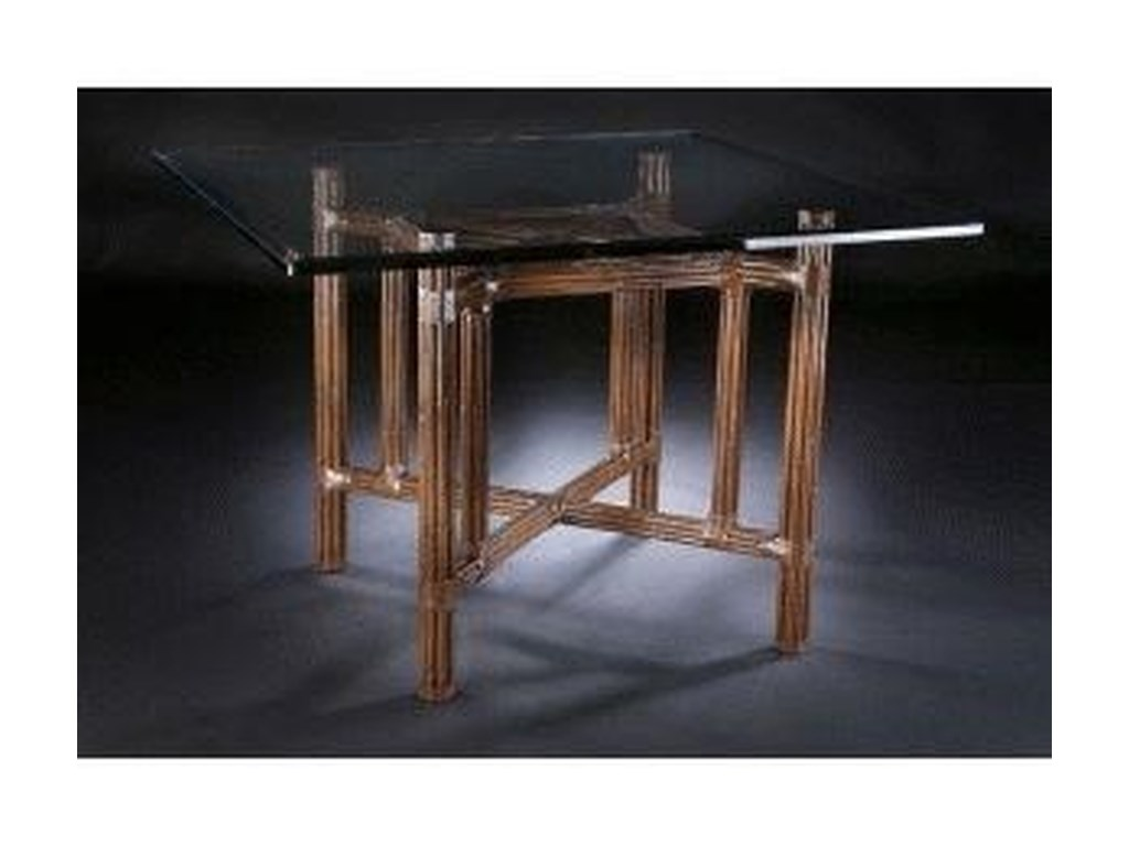 C.S. Wo & Sons Sumatra II TobaccoDining Table