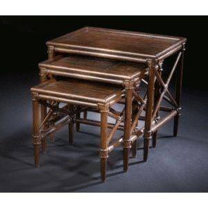 C.S. Wo & Sons MelakaNesting Tables