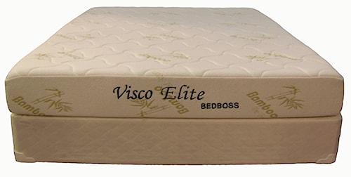 Bed Boss Visco Elite Queen Memory Foam Mattress and Foundation