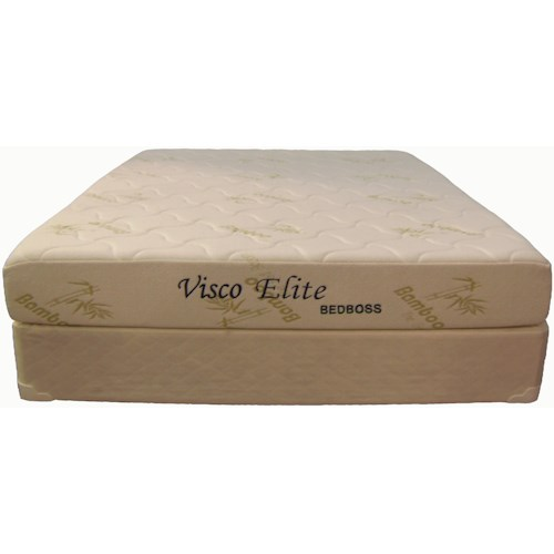 Bed Boss Visco Elite Full Memory Foam Mattress