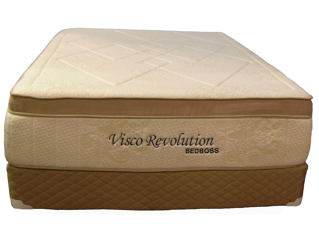 Bed Boss Visco Revolution California King Box Top Memory Foam