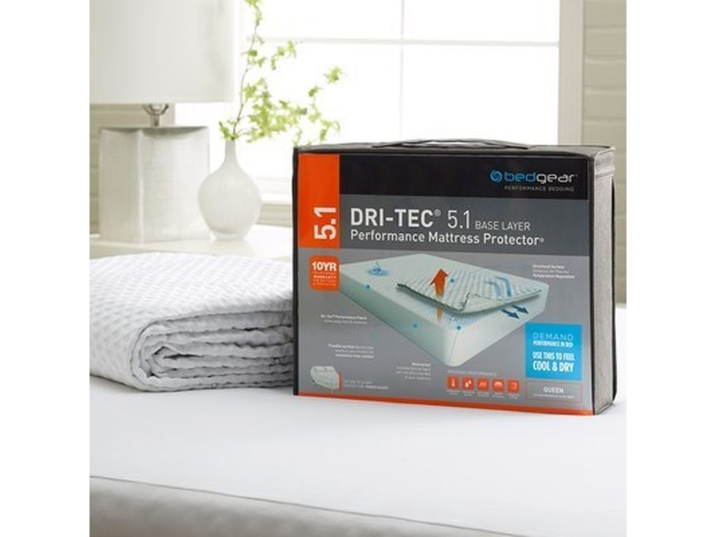 Bedgear Dritech 5.1 Mattress PadFull 5.1 Waterproof Mattress Pad