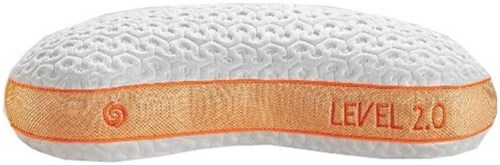 Bedgear Level Performance Pillows Level 2.0 Back Sleeper Performance Pillow - Medium Body