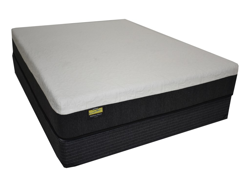 Mattress Direct Azalea HybridFull Hybrid Mattress Set