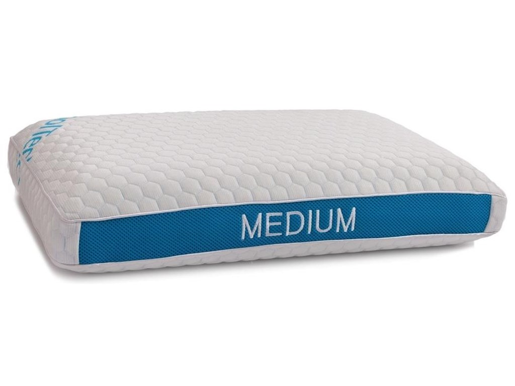 BedTech Blue IceMedium Queen Pillow