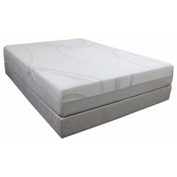 Bedtech Gel Max Memory Foam Twin Extra Long 12 Memory Foam Mattress