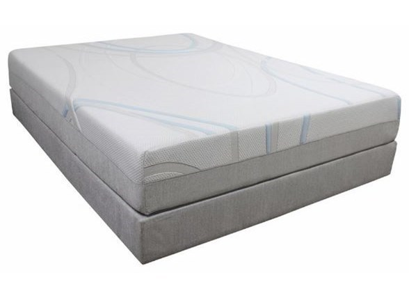 Bedtech Gel Max Memory Foam Twin Extra Long 12 Memory Foam Mattress