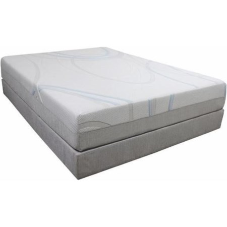 "Queen 14"" Memory Foam Mattress"