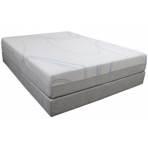 BedTech Gel-Max Memory Foam Twin 14
