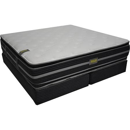 Queen Two Sided Pillow Top Mattress Set