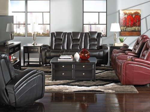 Behold Home Transformer Leather Loveseat