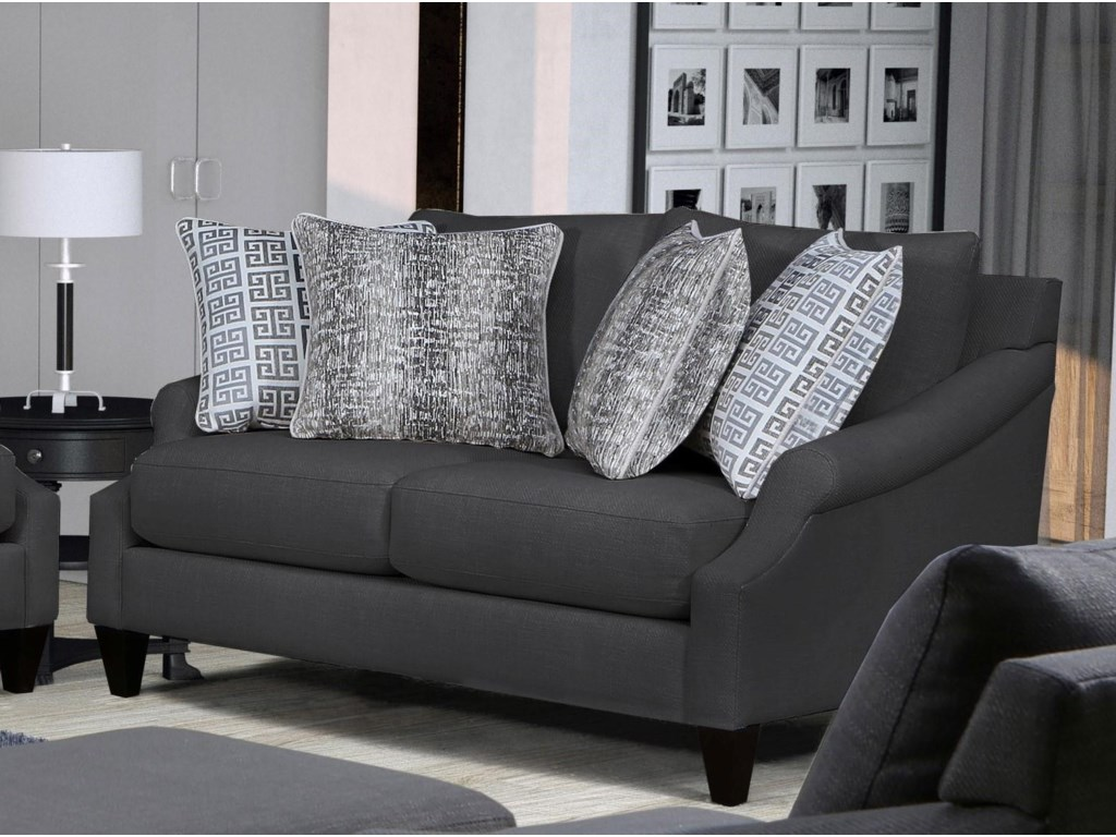 Behold Home 1035Platinum Loveseat