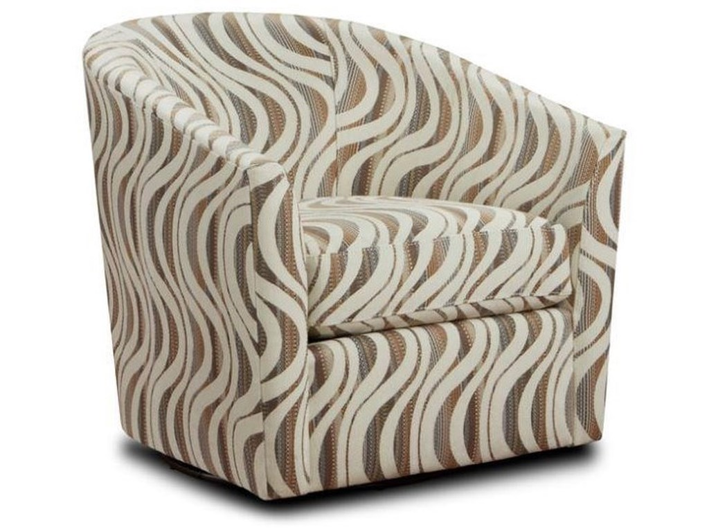 Behold Home ChandlerCream Barrel Accent Chair
