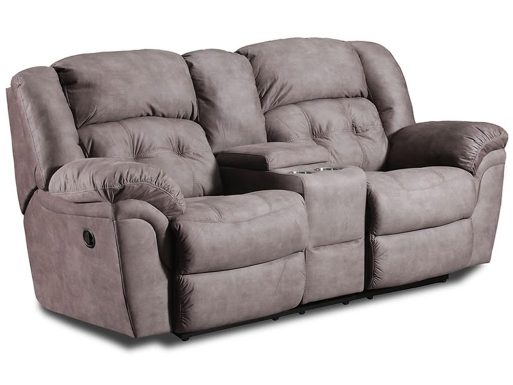 Behold Home 110Reclining Loveseat with Console