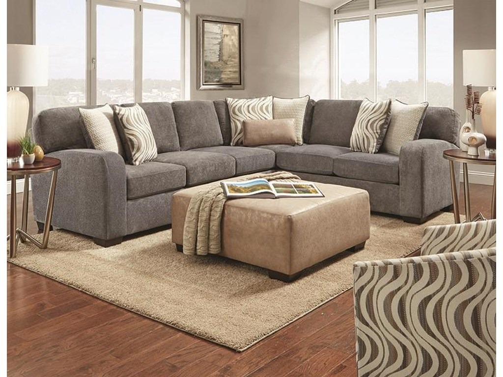 Behold Home 390312 Piece Sectional