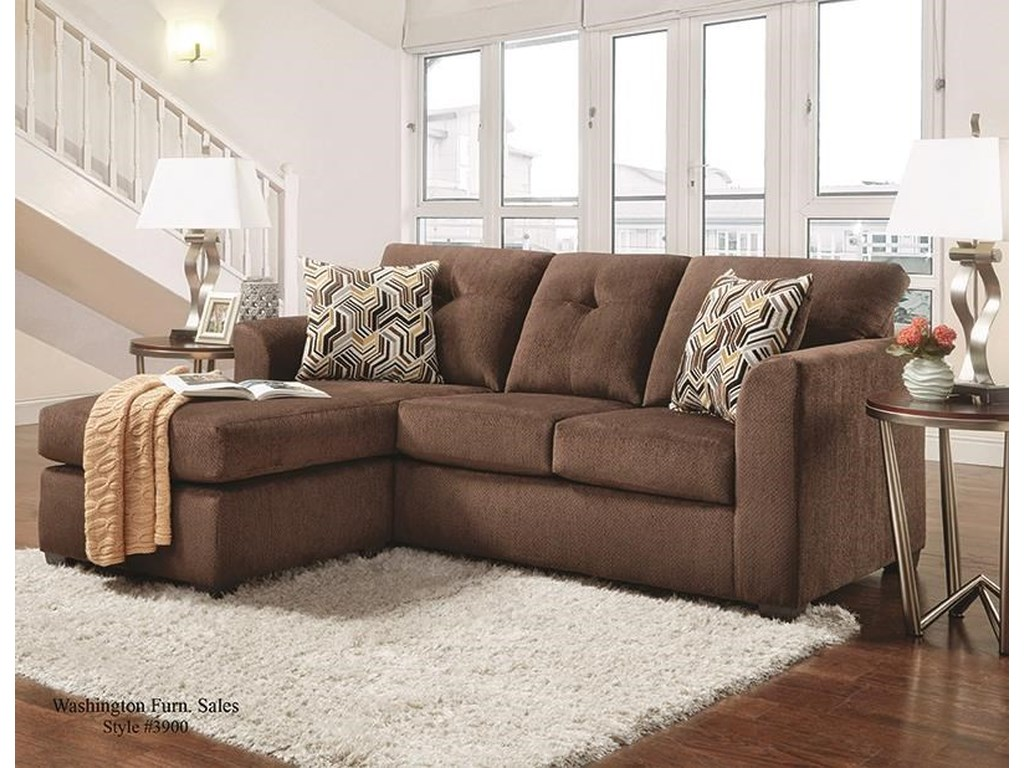Behold Home 39031Sofa Chaise