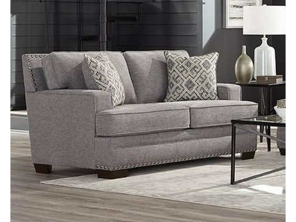 Behold Home ToniGray Loveseat