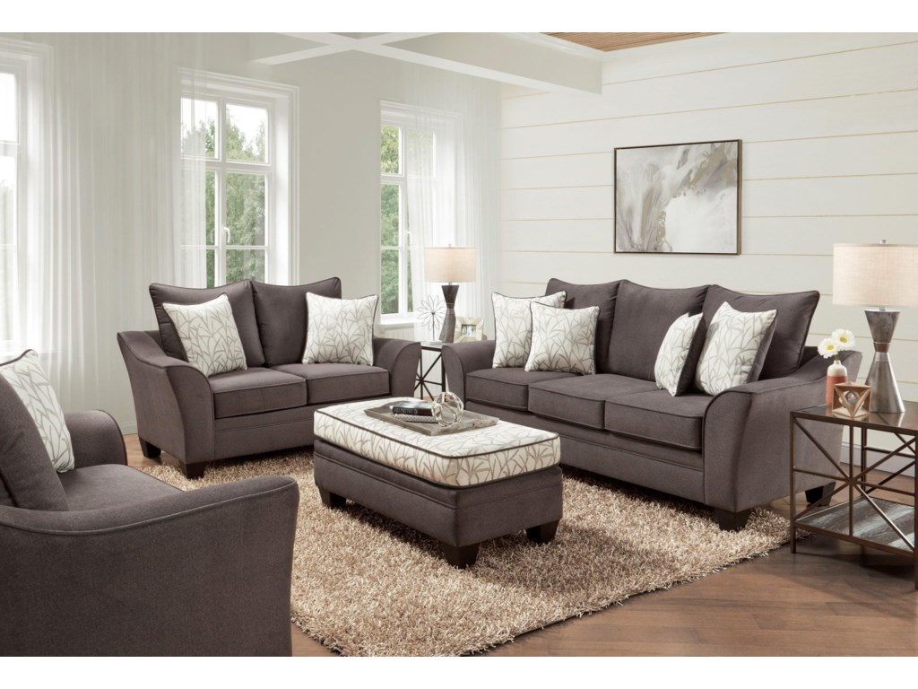 Behold Home ClaytonSofa and Loveseat