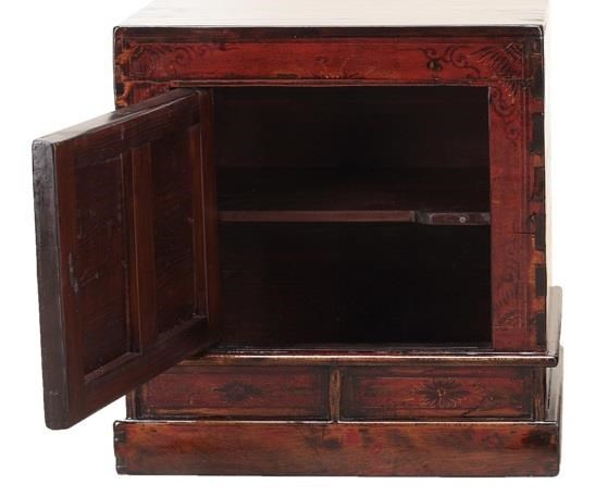 C.S. Wo & Sons AntiquesBedside Cabinet