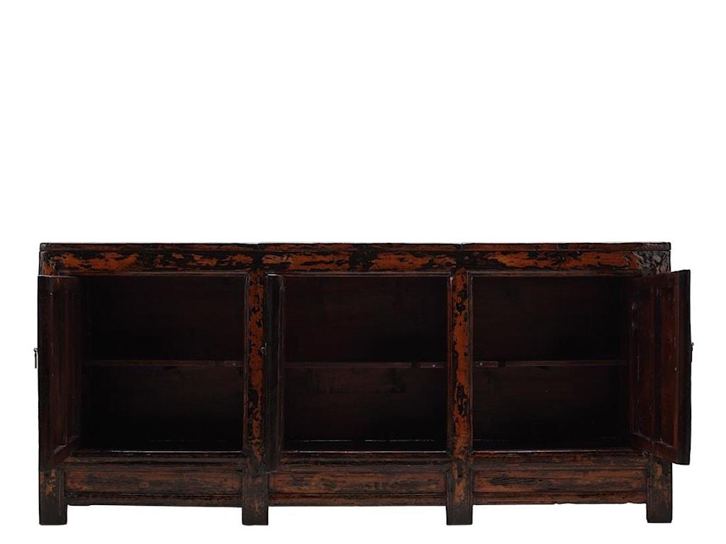 C.S. Wo & Sons Antiques3 Door Cabinet