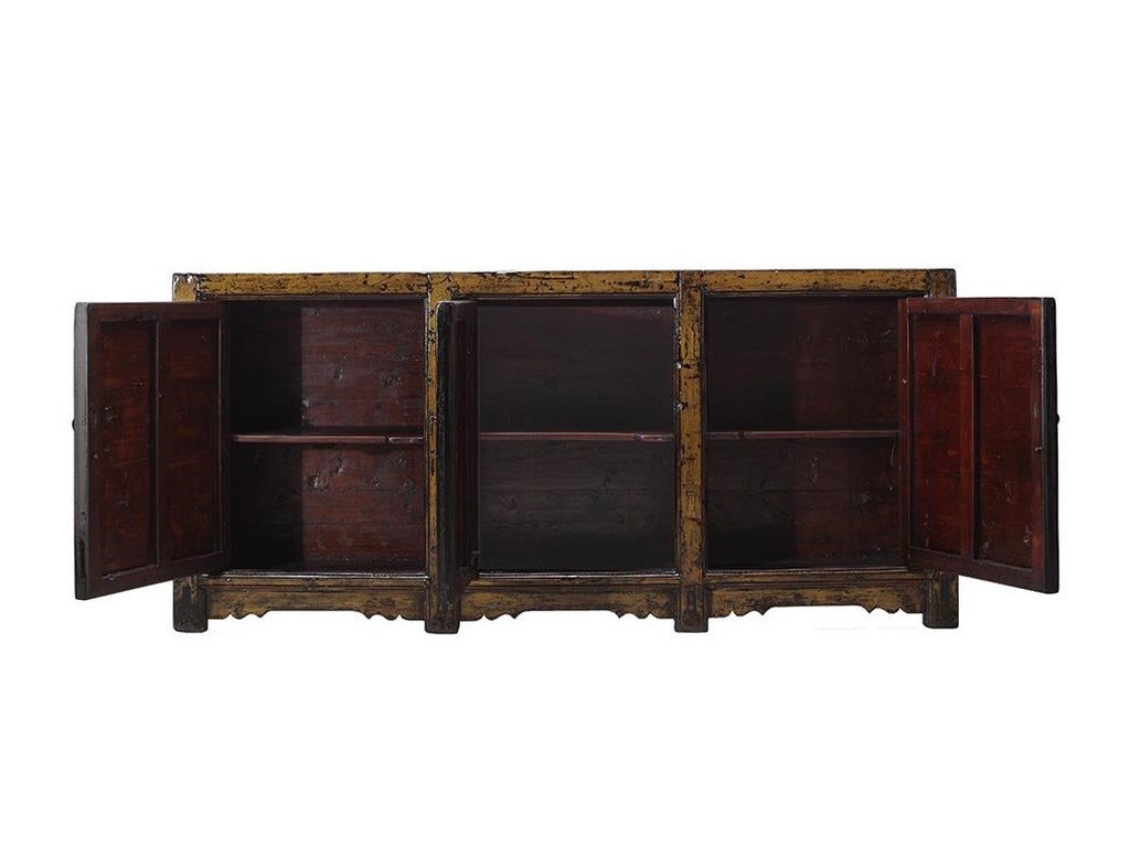 C.S. Wo & Sons Antiques3 Door Cabinet