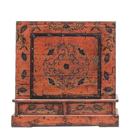 C.S. Wo & Sons AntiquesBedside Cabinet