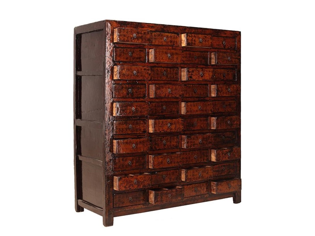 C.S. Wo & Sons AntiquesCabinet with Drawers
