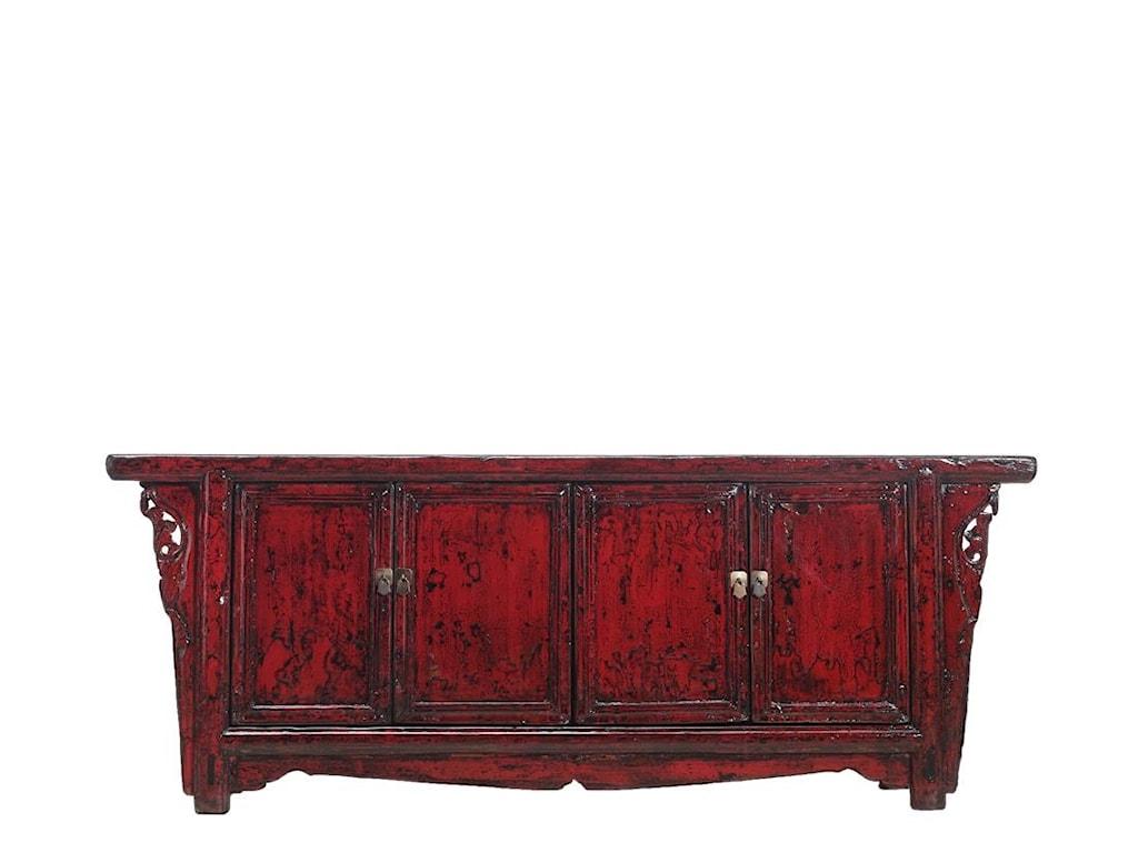 C.S. Wo & Sons Antiques4 Door Cabinet