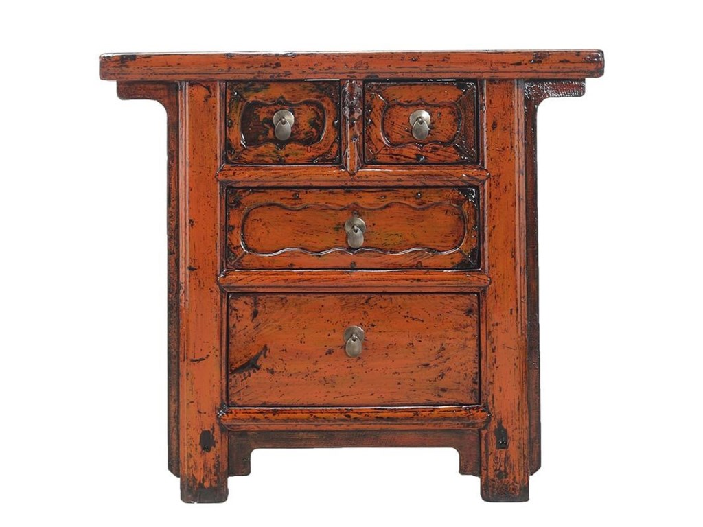 C.S. Wo & Sons Antiques4 Drawer Cabinet