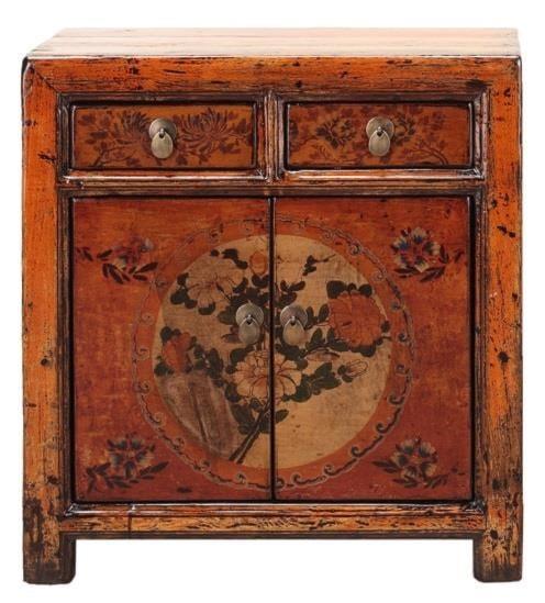C.S. Wo & Sons Antiques5 Door Cabinet