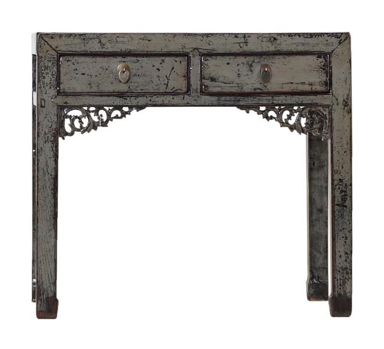 C.S. Wo & Sons Antiques2 Drawer Table